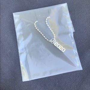 2020 silver necklace